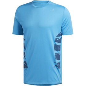 adidas Supernova Tee Men, shock cyan